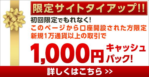 優待FXキャンペーン①