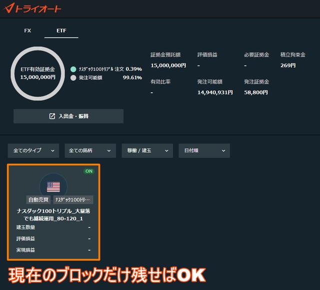 ブロック戦略発注-33万円ver