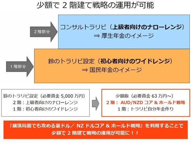 2階建て戦略の比較