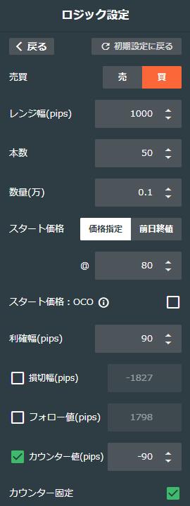 豪ドル/円買い70-80