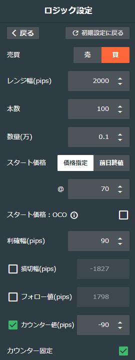 豪ドル/円買い50-70