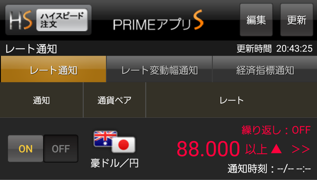 ループイフダン設定と実績-豪ドル/円