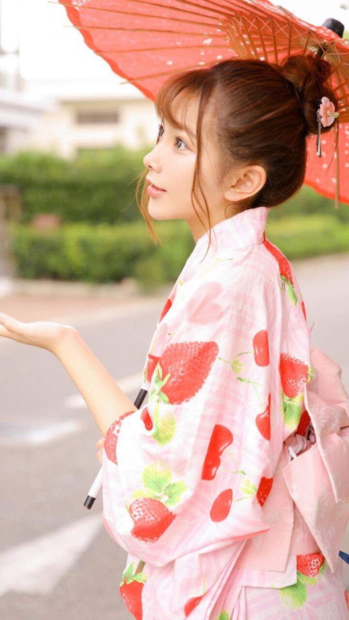 プリティ Kaいいっko Iphoneの壁紙純粋な着物の女の子 ロック画面の画像 携帯電話の壁紙 女性 壁紙