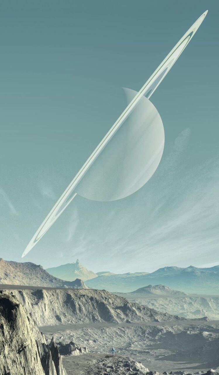 土星 風景 惑星 壁紙空の風景 山 固体 山 高精細画像 材料入力します 壁紙