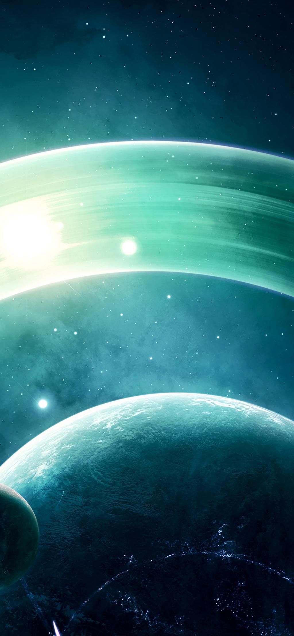 土星の目に見えないオーラ ロック画面の画像 クリアな高pspの壁紙携帯電話の壁紙 風景 壁紙
