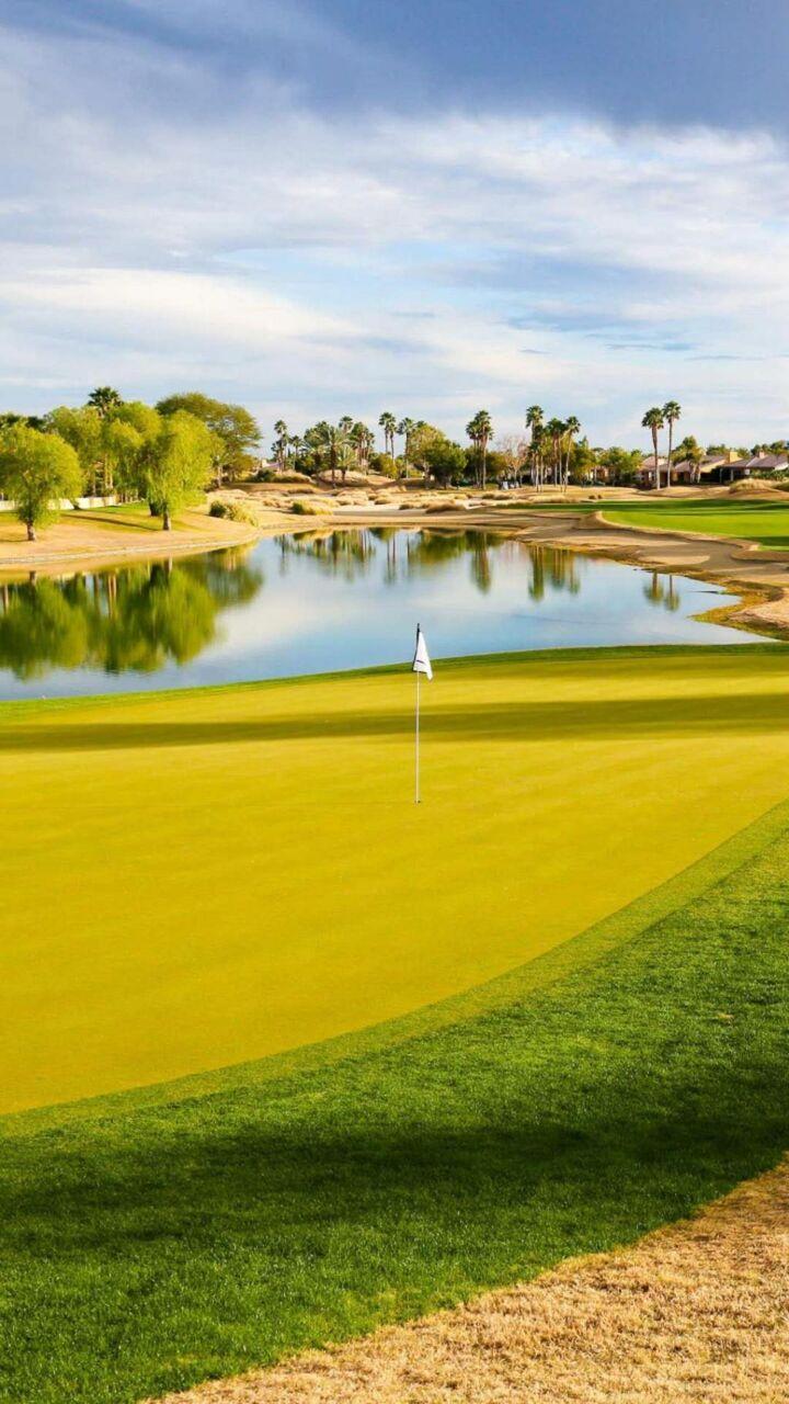 ゴルフリゾート ロック画面の画像 壁紙のhd防水手のマシンの壁紙 風景 壁紙