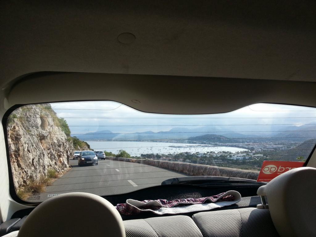 リアウィンドウ 車 窓 Ra Bu Bu壁紙liteスペイン マヨルカの海岸 風景 ドライブ 高精細の画像 材料を入力します 壁紙