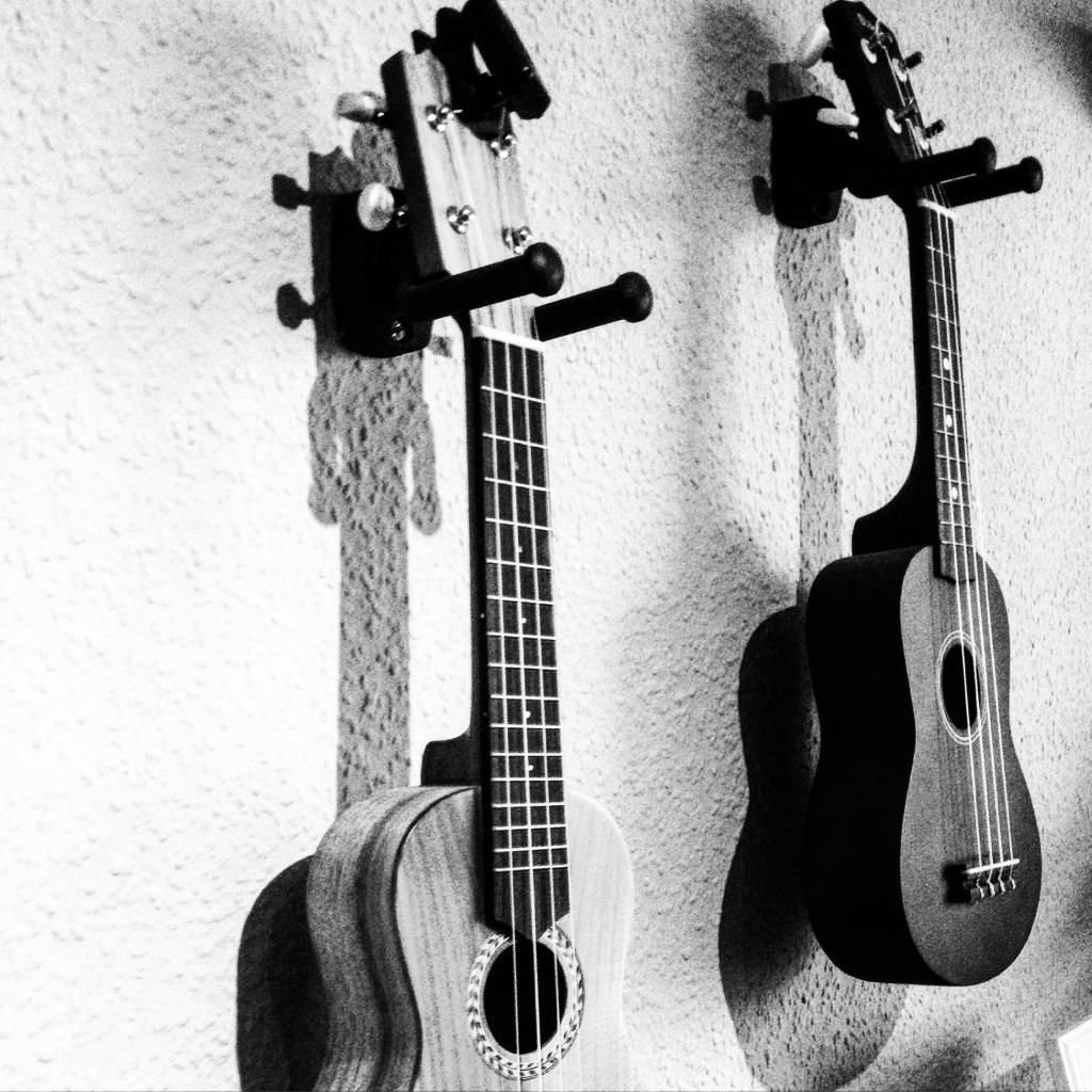 ウクレレ壁紙のカビヤン 音楽 ページ 楽器 グレー 楽器