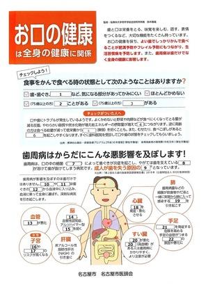 お口の健康クイズ