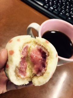 いちごケーキのクリーム