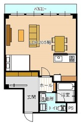 寄居マンション 603(リノベ・家具付き)
