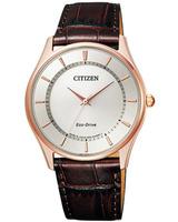 BJ6482-04A 革バンド エコドライブ ソーラー 腕時計 CITIZEN メンズ 裏ブタへの刻印対応、有料