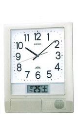 お好きな時間をチャイムやメロディーで知らせてくれる時計