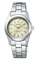 名入れ時計 シチズン ソーラー電波時計 女性用腕時計 レグノ 10気圧防水 KL4-010-81