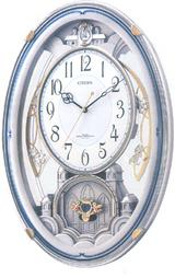 シチズン メロディ電波掛け時計 パルミューズ 4MN485-019