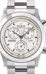 スイスミリタリー(SWISSMILITARY) エレガントビッグクロノ 腕時計 ML246