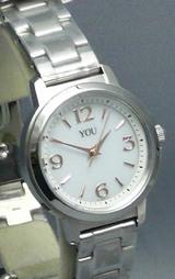オリエント女性用ソーラー腕時計ユーwy0061wb