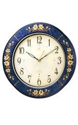 時とともに趣を増すインテリアの伝統工芸。かけがえのない贈りものにQE2-M107掛時計