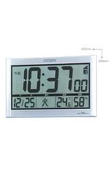 大きな時刻表示の大型掛置き兼用のデジタル電波時計8RZ063-019