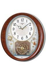 セイコー(SEIKO)のメロディー電波時計「ウェーブシンフォニー」AM245B掛時計