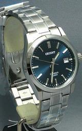 オリエント時計(ORIENT)の紺色文字板のメンズウオッチ スイマーWW0301UN