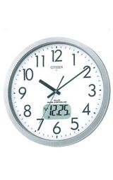 シチズン CITIZEN 液晶カレンダー付き電波時計の掛け時計 オフィスクロック 4FY616-019