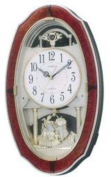 3つのジャンルのメロディを選べるシチズンのメロディー掛時計4MN483-023