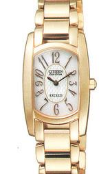 シチズン高級ソーラー腕時計エクシードEBS75-2382女性用