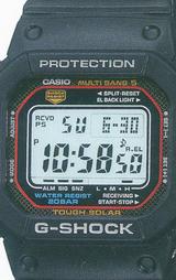世界5局の電波を受信するマルチバンド5を搭載したG-SHOCKのソーラー電波時計です