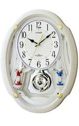 毎正時をメロディーで知らせてくれる掛け時計