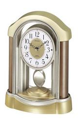 セイコー飾り振り子付き電波置き時計bz224b