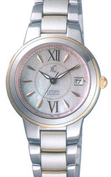 個性がさりげなく光るエコ・ドライブソーラーのレディース時計
