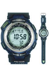 プロトレックトリプルセンサーソーラー電波時計ARWorldSeriesタイアップモデルPRW-1300ABJ-2JR