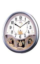 メロディ電波掛け時計パルミューズ4MN419-005