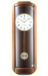 セイコー SEIKO 電波時計 エンブレム 柱時計 HS411B