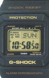 カシオ CASIO Gショック(G-SHOCK) ラスタファリアン G-5500R-1JF