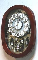 リズム からくり時計 スモールワールドコンベル 4MN467RH06