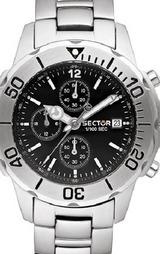 セクター200(SECTOR) B3200C125 クロノグラフ腕時計