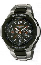 カシオ 世界6局の電波対応Gショックソーラー電波時計スカイコックピットGW-3000D-1AJF男性用腕時計