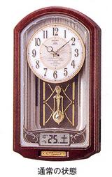 セイコー からくり時計ウェーブシンフォニーRE556B