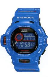 カシオ Gショック ソーラー電波時計ライズマンMen in Earth Blue gw-9200blj-2jf