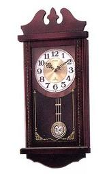木枠の柱時計「フレデリック」