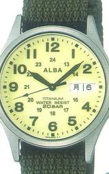 アルバ(ALBA)アウトドアウォッチ フィールドギア APBT209