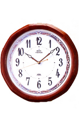 インテリア電波掛け時計プレミアムLS215B