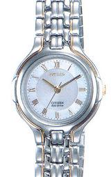 シチズン CITIZEN ソーラー腕時計エクシード女性用 EBT75-1993