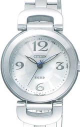 シチズン高級ソーラー電波時計 エクシード女性用EBD75-2721