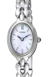 シチズン CITIZEN クレティア 女性用ソーラー腕時計 CLB37-1691