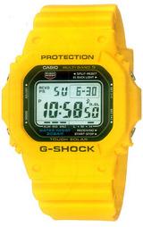 人気のGショック ソーラー電波時計 GW-M5600A-9JF