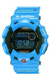 カシオ Gショック メン・イン・アース・ブルー ソーラー電波時計 ガルフマン GW-9100BL-2JF 男性用 メンズ 腕時計