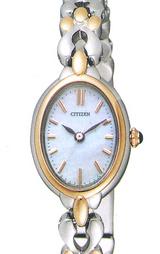 シチズン CITIZEN 女性用ソーラー腕時計クレティア CLB37-1692